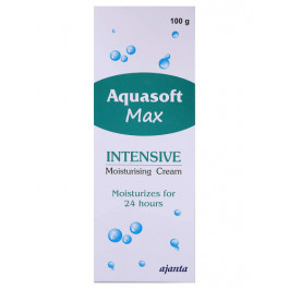 Aquasoft Max Intensive Moisturizing Cream, 100gm