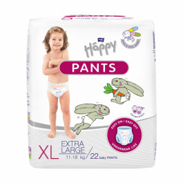 Bella Baby Happy Pants Extra Large, 22 Pieces