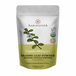 Aarshaveda Organic Brahmi Powder, 200gm