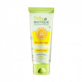 Biotique Bio Aloe Vera Baby Sun Block SPF 20 Sunscreen, 50gm