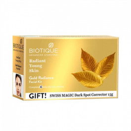Biotique Bio Gold Radiance Facial Kit, 65gm