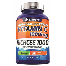 Bionova Richcee 1000mg Vitamin C, 30 Tablets