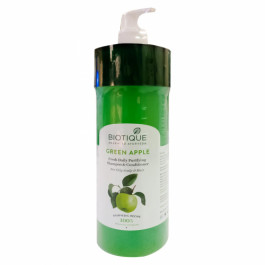 Biotique Bio Green Apple Fresh Daily Purifying Shampoo & Conditioner, 800ml