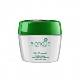 Biotique Bio Coconut Whitening & Brightening Cream, 175gm