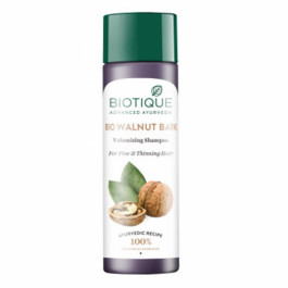 Biotique Bio Walnut Bark Body Building Shampoo, 190ml
