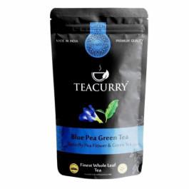 Teacurry Blue Green Tea, 30 Tea Bags