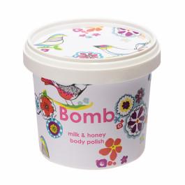 Bomb Cosmetics Milk & Honey Body Polish, 375ml