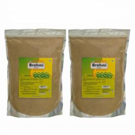 Herbal Hills Brahmi Powder, 1Kg (Pack Of 2)