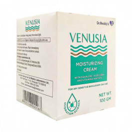Venusia Moisturizing Cream with Squalene, Aloevera and Vitamin E Acetate, 100gm