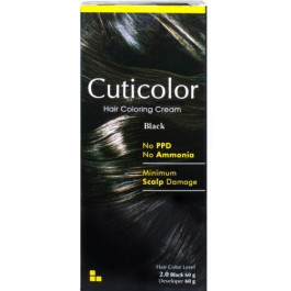Cuticolor Hair Colour Black, 120gm