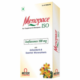 Menopace ISO, 10 Tablets