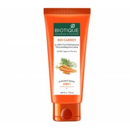 Biotique Bio Carrot Face & Body Sun Lotion Spf40, 50ml