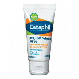 Cetaphil UVA/UVB Defense SPF 50 Moisturizer - 50 ml