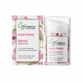 CGG Cosmetics Retinol 2.5% Moisturizer, 50ml