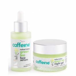 mCaffeine Green Tea Face Hydration Kit, 90ml