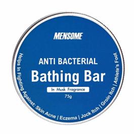 Mensome Anti Bacterial Bathing Bar, 75gm (Pack Of 2) - Musk Fragrance