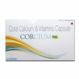 Corcium Plus, 10 Tablets