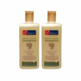 Dr Batra's Dandruff Cleansing Shampoo, 100ml (Pack of 2)