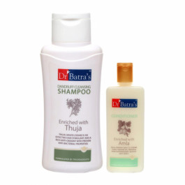 Dr Batra's Dandruff Cleansing Shampoo With Conditioner Combo Pack