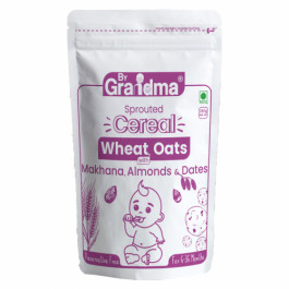 ByGrandma Wheat, Oats With Makhana, Almond & Dates Health Porridge Mix, 280gm