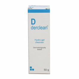 Derclean Hydro-gel Cleanser, 50gm