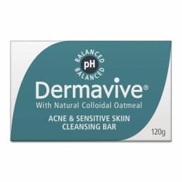 Dermavive Acne & Sensitive Skin Cleansing Bar, 120gm
