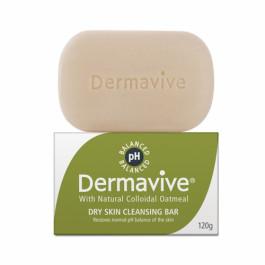 Dermavive Dry Skin Cleansing Bar, 120gm