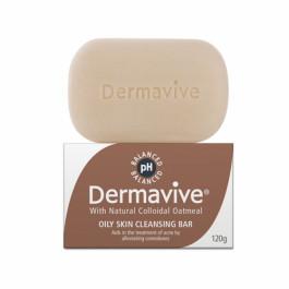 Dermavive Oily Skin Cleansing Bar, 120gm