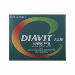 Diavit Plus, 10 Tablets