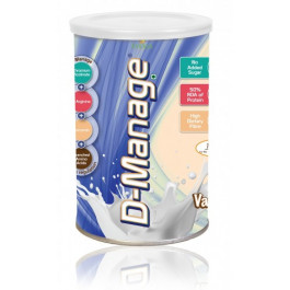 D-Manage Powder (Vanilla), 200g