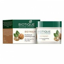 Biotique Bio Walnut Purifying & Polishing Scrub, 50gm