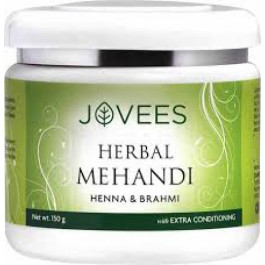Jovees Henna & Brahmi Herbal Mehandi, 150gm