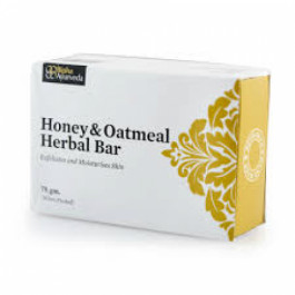 Bipha Ayurveda Honey and Oatmeal Bar, 75gm