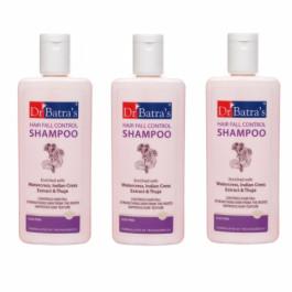 Dr Batra's HairFall Control Shampoo, 200ml (Pack of 3)