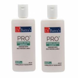 Dr Batra's Pro+ Intense Volume Shampoo, 200ml (Pack of 2)