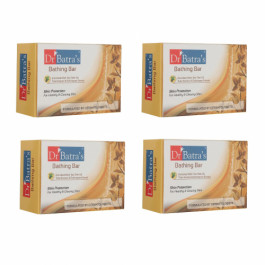 Dr Batra's Skin Protection Bathing Bar, 125gm (Pack of 4)