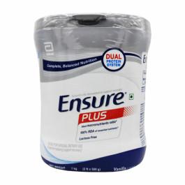 Ensure Plus Vanilla, 1kg (Jar)