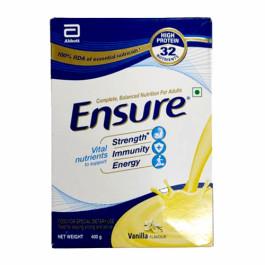 Ensure Vanilla Flavour, 400gm (Refill Pack)