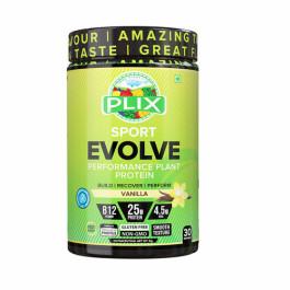 Plix Evolve Performance Plant Protein Powder Vanilla Flavour, 1kg