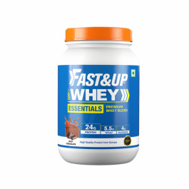 Fast&Up Whey Advanced Isolate + Hydrolysed Whey Rich Chocolate Flavour, 30 Servings
