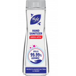 Nyle Hand Sanitizer 72% Alcohol, 90ml (Green Apple) - Protects Against Bacteria & Viruses