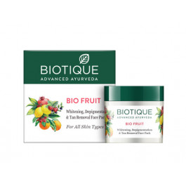 Biotique Bio Fruit Whitening & Depigmentation Face Pack, 75gm