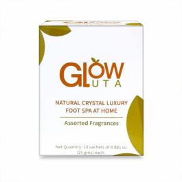 GlutaGlow Natural Crystal Luxury Foot Spa, 25gm