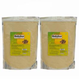 Herbal Hills Gokshur Powder, 1 Kg (Pack Of 2)