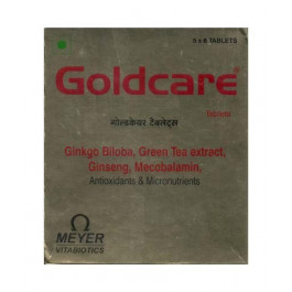Goldcare, 30 Tablets