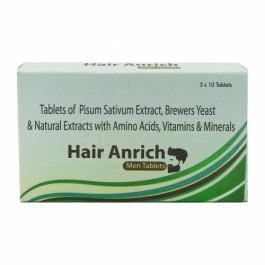 Hair Anrich Men, 10 Tablets (Pack Of 3)