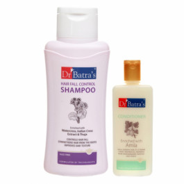 Dr Batra's Hair Fall Control Shampoo With Conditioner Combo Pack