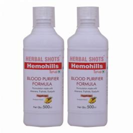 Herbal Hills Hemohills Herbal Shots,  500ml (Pack of 2)