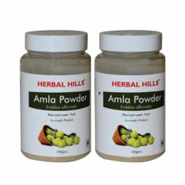 Herbal Hills Amla Powder, 100gm (Pack Of 2)