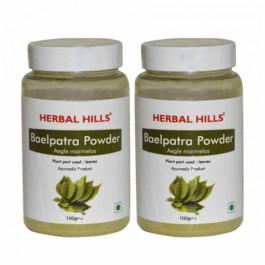 Herbal Hills Baelpatra Powder, 100gm (Pack Of 2)